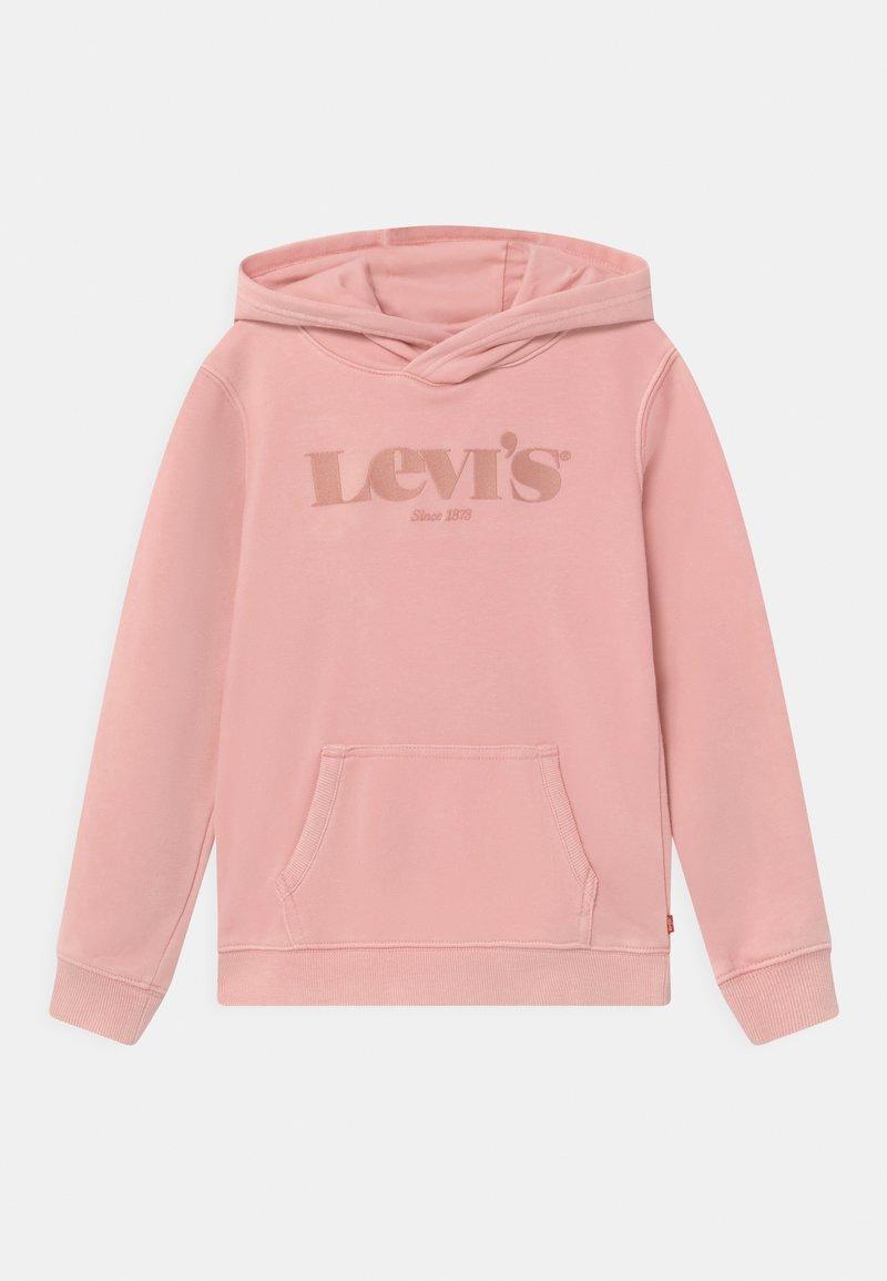 Levi's® - LOGO HOODIE UNISEX - Jersey con capucha - coral blush