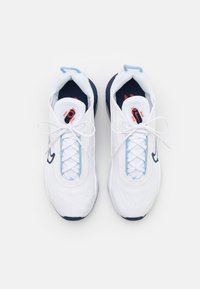 Nike Sportswear - AIR MAX 2090 UNISEX - Trainers - white/chile red/midnight navy - 3