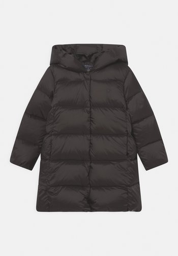 LONG OUTERWEAR COAT - Down coat - dark loden