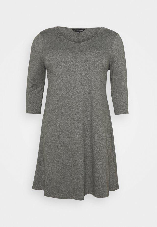 SWING DRESS - Sukienka z dżerseju - grey marl
