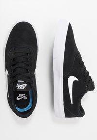 Nike SB - CHARGE - Skateskor - black/white - 1