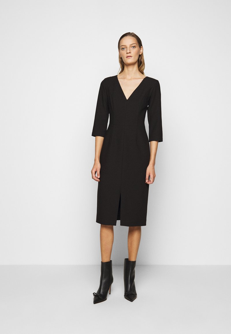 HUGO - KALAYLA - Shift dress - black