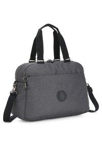 Kipling - PEPPERY DENY - Weekend bag - charcoal - 2