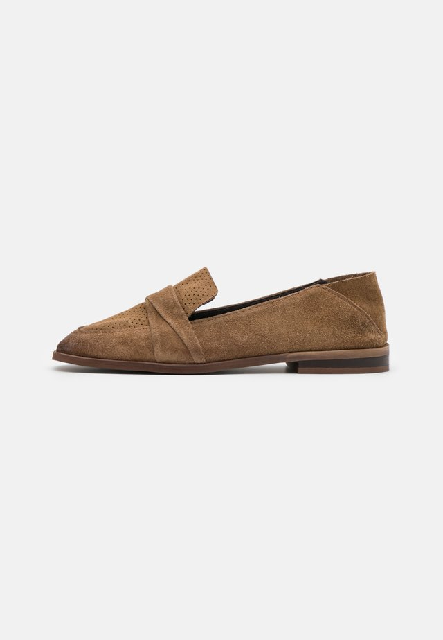 ANITA - Loafers - stone
