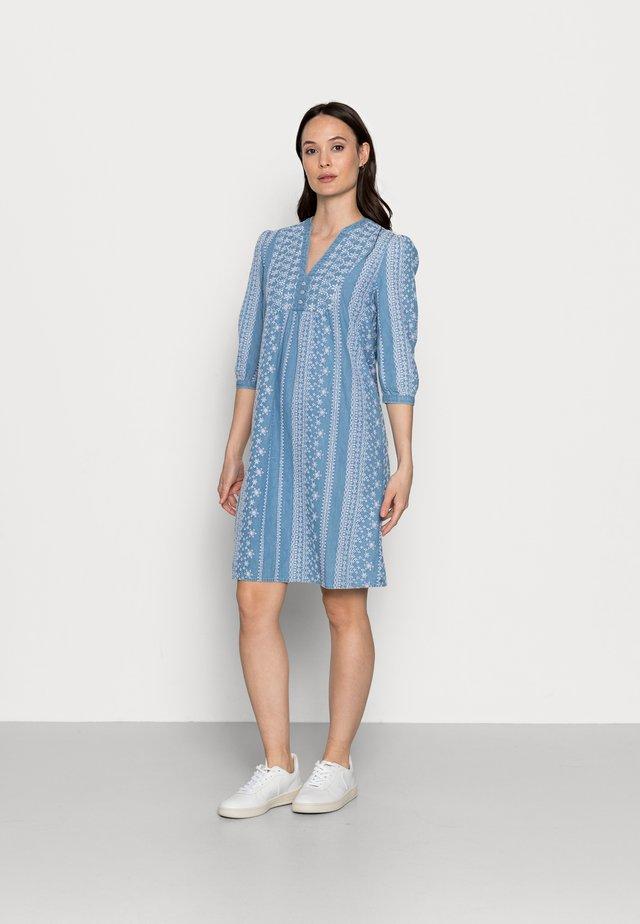 Korte jurk - blue medium
