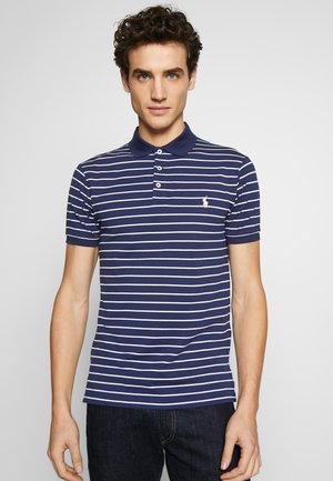 Polo shirt - french navy/white