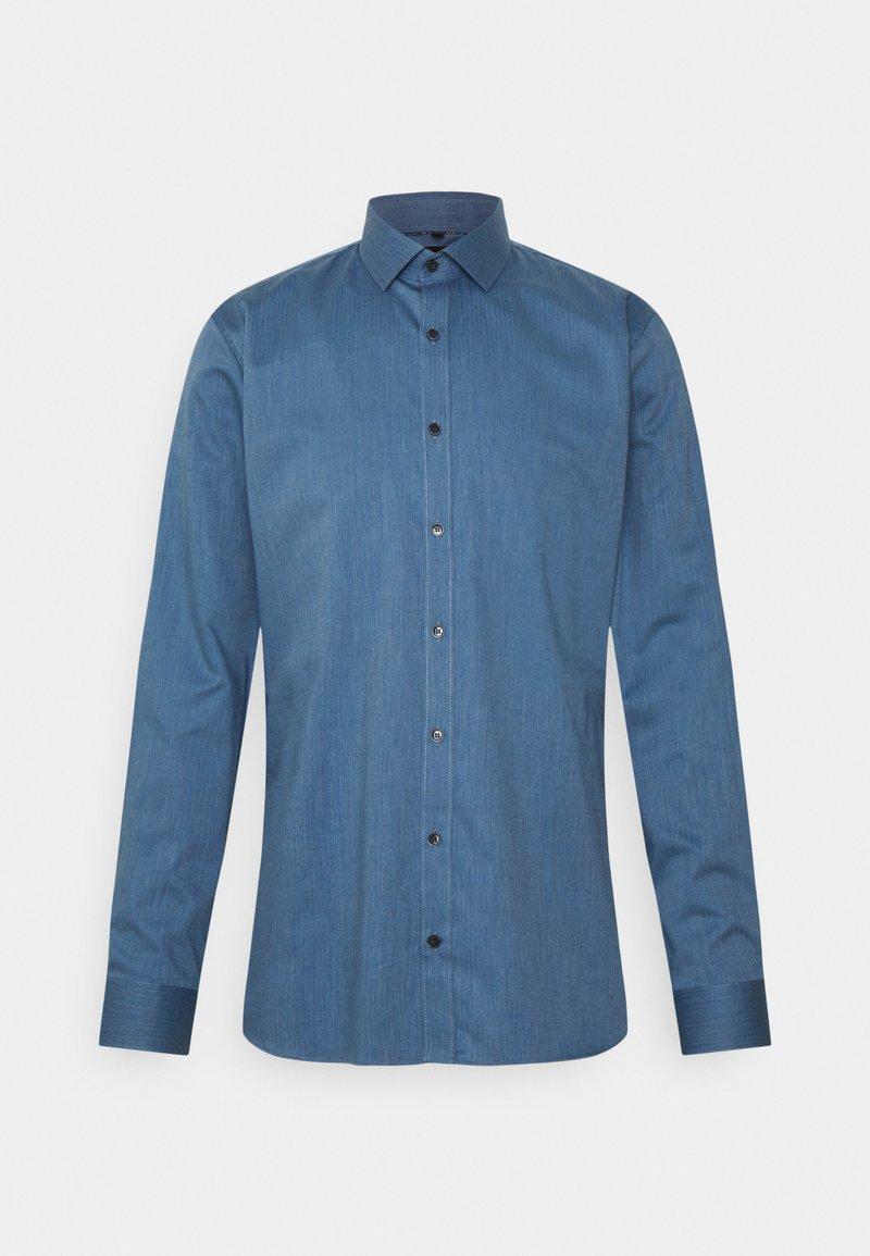 OLYMP No. Six - Formal shirt - rauchblau