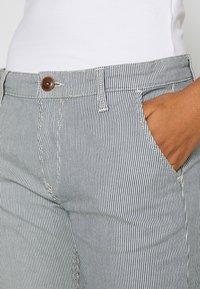 Pepe Jeans - MAURA STRIPE - Spodnie materiałowe - blue/white - 4