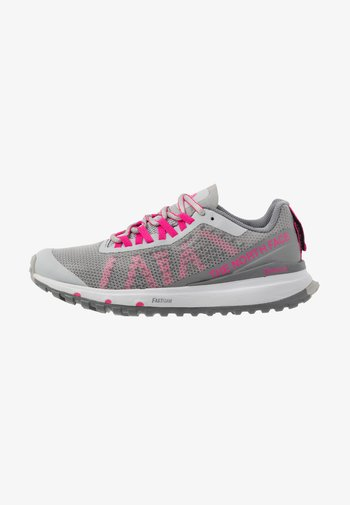 ULTRA SWIFT - Neutral running shoes - griffin grey/pink