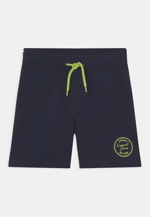LOGO PRINTED  - Teplákové kalhoty - bleu