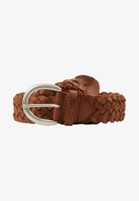 TOM TAILOR - Braided belt - cognac - 3