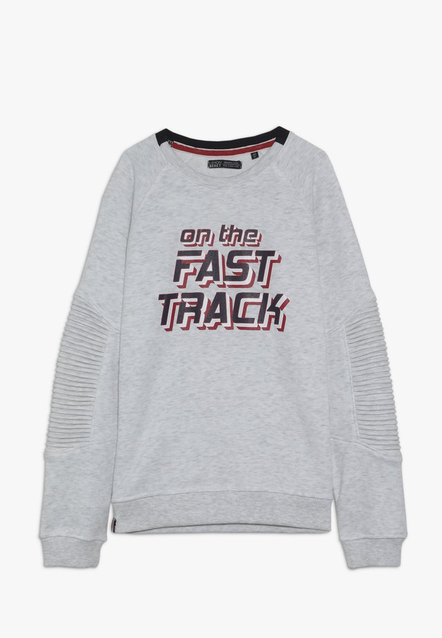 TEEN BOYS - Sweatshirt - light grey melange