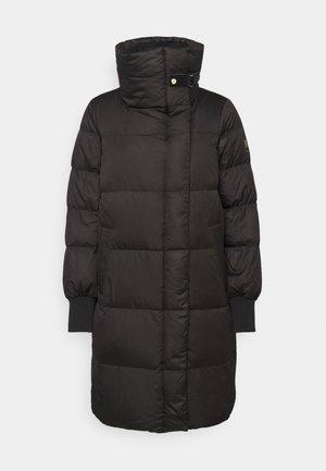 MATTE FINISH COAT  - Abrigo de plumas - black