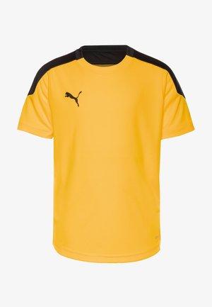 Print T-shirt - ultra yellow/black