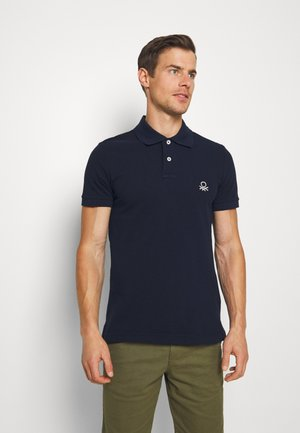 SLIM - Polo shirt - dark blue