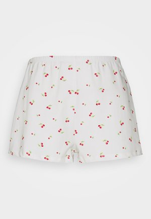 RELAXED FIT MINI - Shorts - white