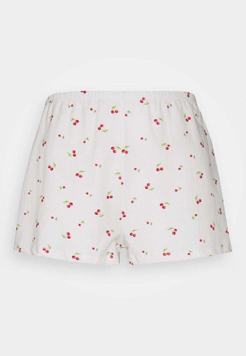Glamorous Petite - RELAXED FIT MINI - Shorts - white