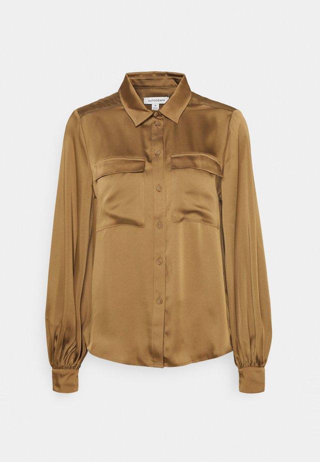 Skjorte - camel