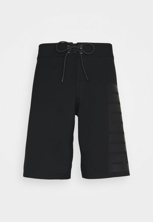 SWIM MEN LONG BOARD - Swimming shorts - black