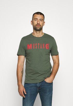 ALEX LOGO - T-shirt print - thyme