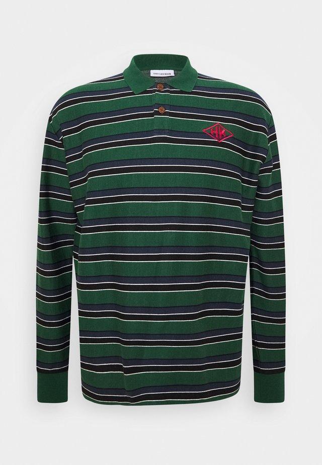 POLO LONG SLEEVE - Sweatshirt - multicolor/green