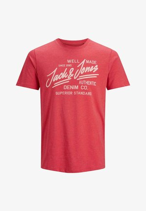 T-shirts print - true red