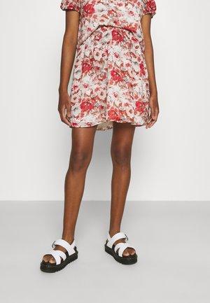 VISALINA SKIRT - A-snit nederdel/ A-formede nederdele - burnt ochre