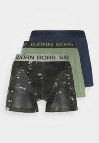 Björn Borg - DIGITAL WOODLAND SAMMY 3 PACK - Pants - forest night - 5