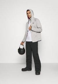 Burton - CROWN - Fleece jacket - iron gray - 1