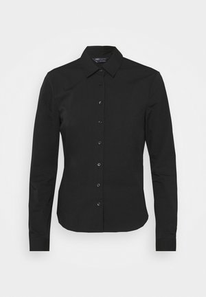 FITTED SHIRT - Camicia - black