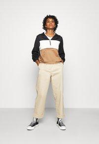 ONLY - ONLSCARLA  - Summer jacket - black/ ecru/ toasted coconut - 1