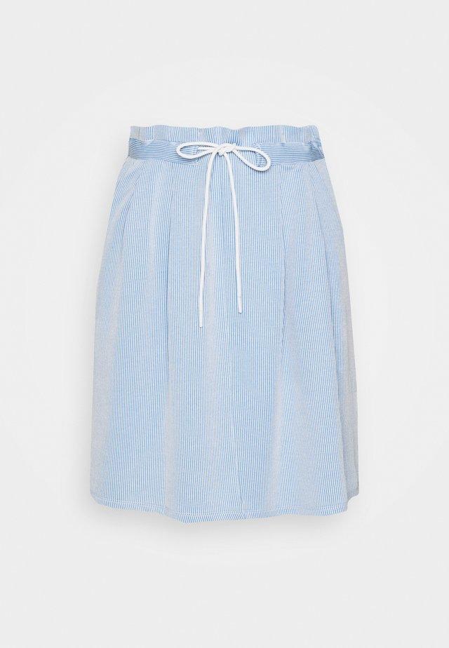 A-linjekjol - blue/white