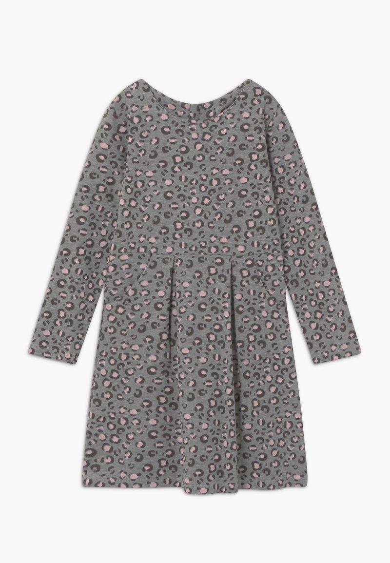 happy girls - Žerzejové šaty - grey/light pink