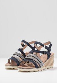 Caprice - Wedge sandals - ocean - 4