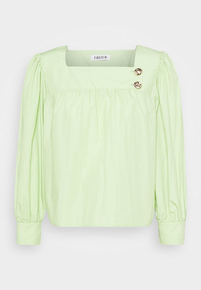 CARA BLOUSE - Blusa - foam green