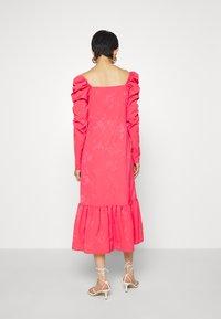 Cras - LISECRAS DRESS - Sukienka letnia - paradise pink - 2