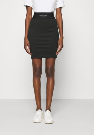 MILANO BODYCON ELASTIC SKIRT - Pencil skirt - black