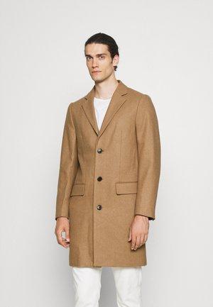 COAT - Short coat - camel