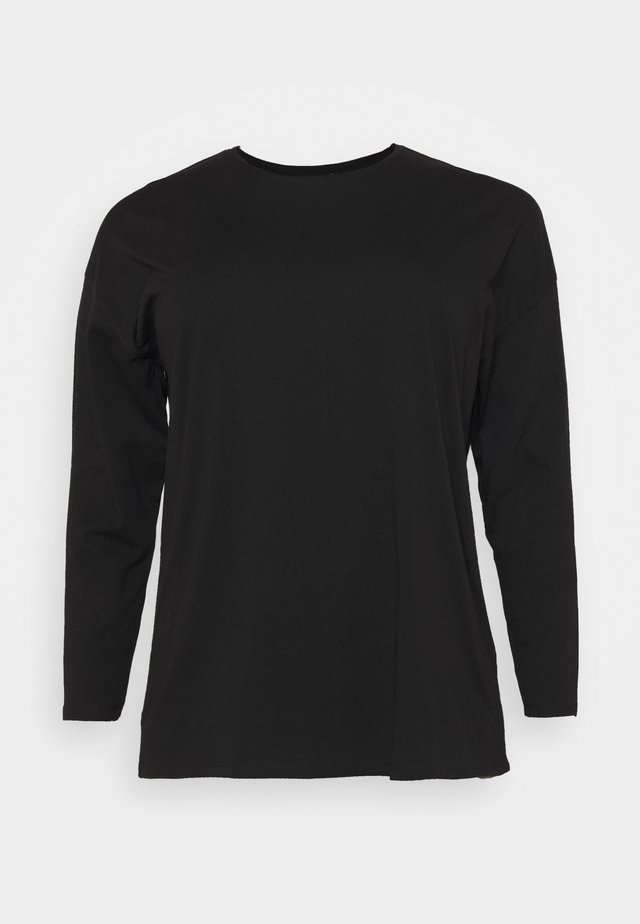 CURVE KYLE OVERSIZED LONG SLEEVE  - Top s dlouhým rukávem - black