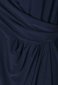 Lauren Ralph Lauren Woman - FARIA LONG SLEEVE DAY DRESS - Vestito estivo - lighthouse navy - 2