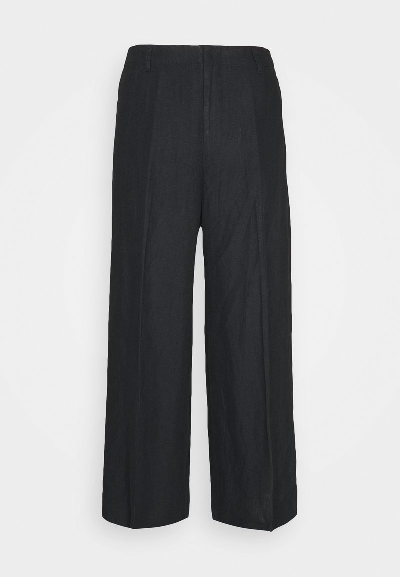 Polo Ralph Lauren - WIDE LEG PANT - Trousers - black