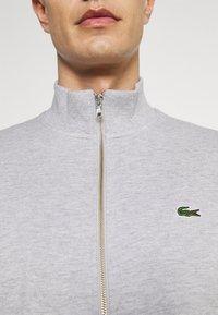 Lacoste - Zip-up sweatshirt - gris chine - 3