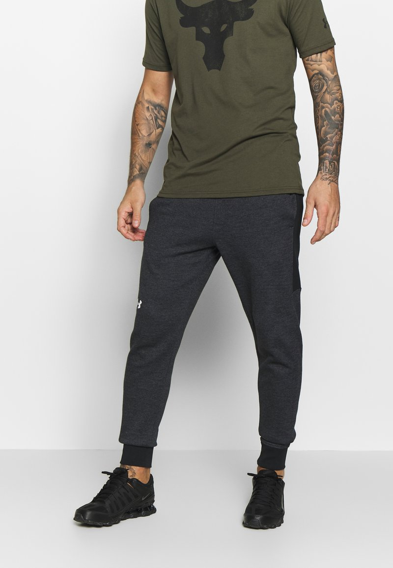 Under Armour - Teplákové kalhoty - black/onyx white