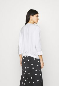 comma - Long sleeved top - white - 2