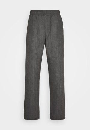 CHASE - Trousers - black/grey