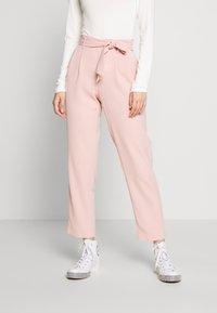 ONLY - ONLLAYLA RUNA LIFE SOLID PANT  - Pantalones - misty rose - 0