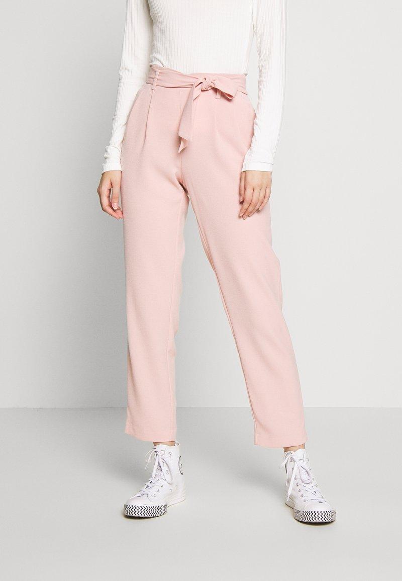 ONLY - ONLLAYLA RUNA LIFE SOLID PANT  - Pantalones - misty rose