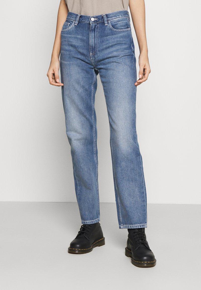 Carhartt WIP - MITA PANT - Straight leg jeans - blue