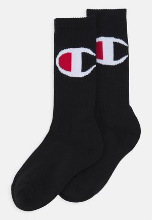 CREW ROCHES UNISEX  2 PACK  - Sports socks - black