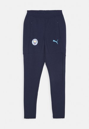 MANCHESTER CITY TRAINING PANT - Tracksuit bottoms - peacoat/team light blue